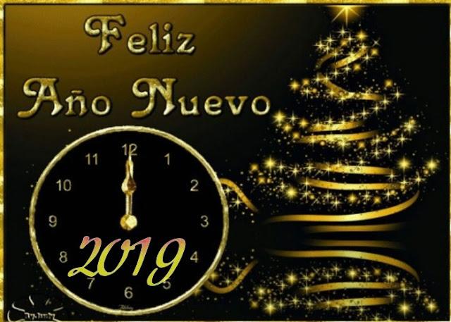 tarjetas de Feliz Año Nuevo 2019