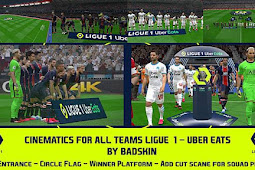 Mod Team Entrances Ligue 1 Uber Eats 2020 - PES 2017
