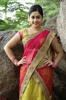 Actress Ronika in Red Saree ~  Exclusive celebrities galleries 038.JPG
