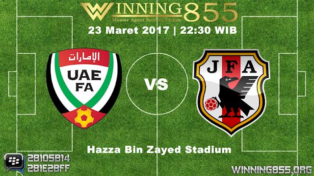 Prediksi Skor UAE vs Jepang 23 Maret 2017