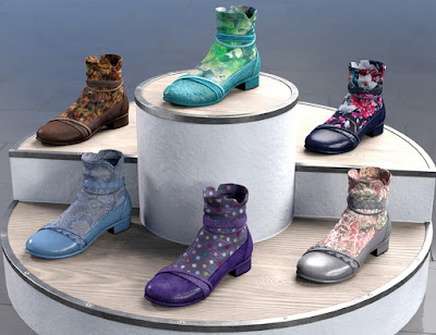 All Season Shoes Texture Add-on