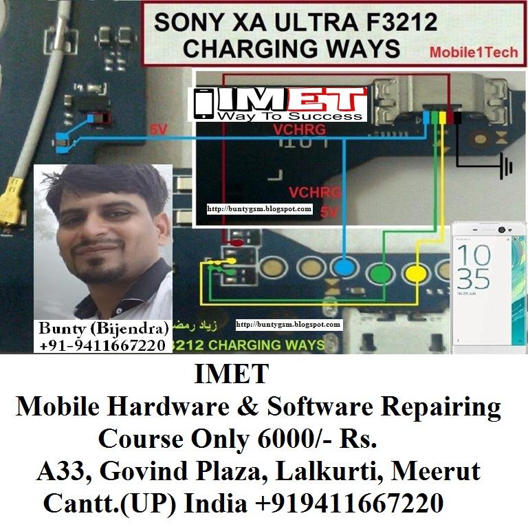 Sony Xperia XA Ultra Charging USB Problem Solution Jumper Ways