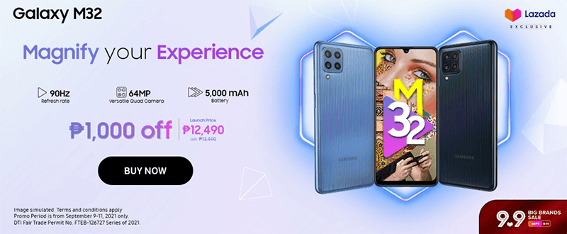 Breaking: Samsung launches Galaxy M32 with Helio G80 and 25W fast charge in PH, priced at PHP 13,490