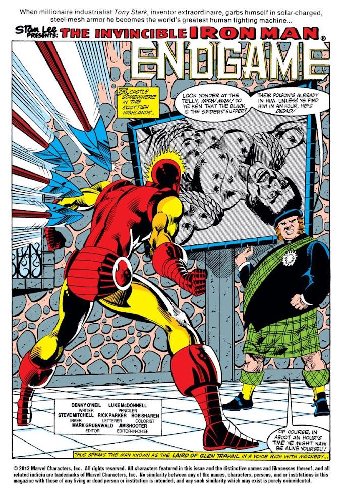 Countdown to Endgame Day 3: Iron Man as Austin Powers