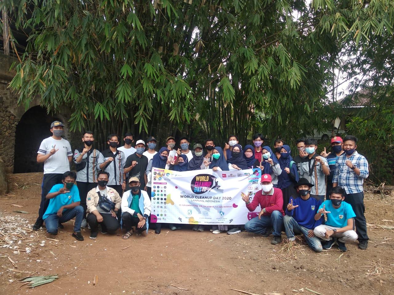 Sambut hari sampah sedunia, KNPI Kec. Langkapura Ajak Masyarakat dan Pemerintah untuk Berperan aktif menanggulangi sampah dikota Bandar Lampung