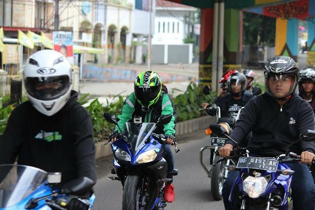 Sunmori Bareng Motovlogger Lampung