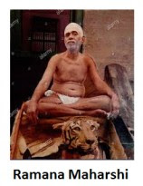 Ramana Maharshi in loin cloth