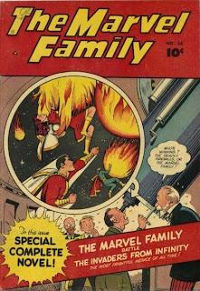 Marvel Family 36 cover