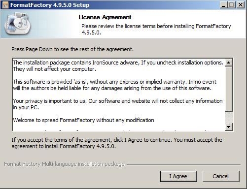 Hướng dẫn cách cài đặt Format Factory nhanh Trên PC Win 7 b