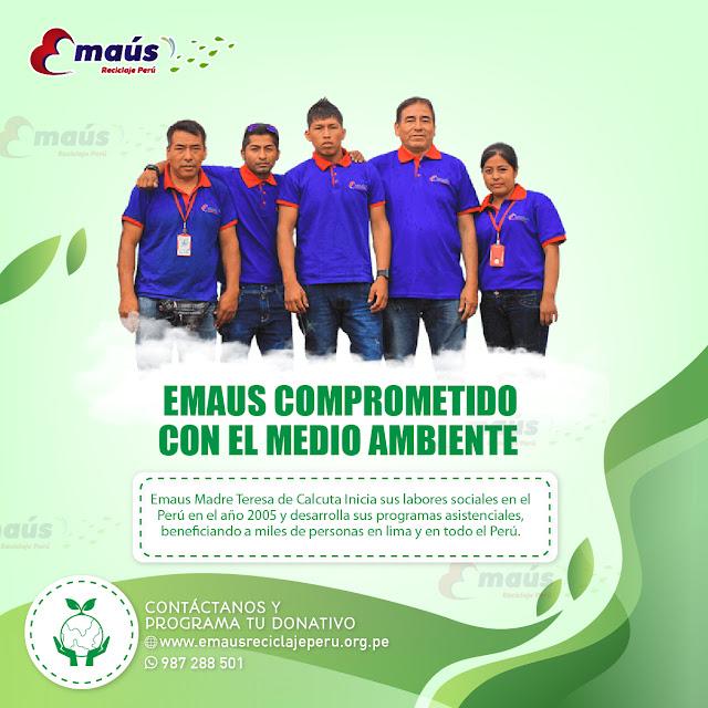 EMAUS COMPROMETIDO CON EL MEDIO AMBIENTE
