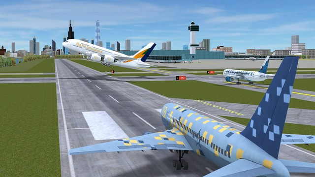 لعبة محاكاة الطيران للايفون