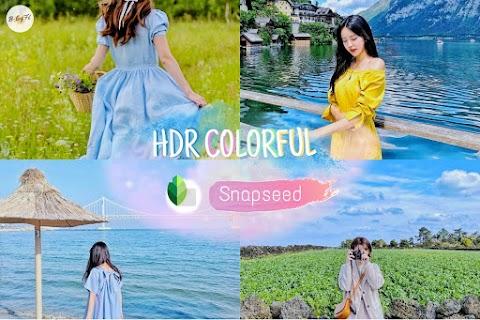 แต่งรูปโทน HDR แบบคมชัด สดใส ดูมีมิติ | Snapseed