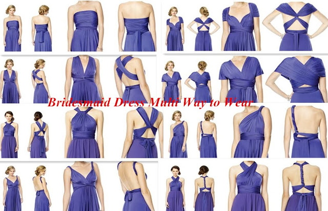 Bridesmaid Dress Multi Way to Wear