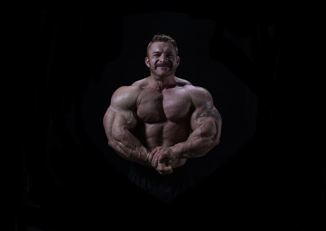 Flex Lewis preparing for the Mr. Olympia 2020 open division