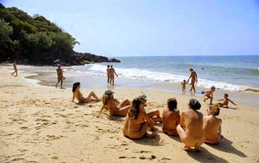 Playa nudista de Costa Rica