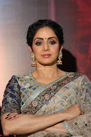 Sri Devi in designer saree stunning beauty at the launch of MOM movie Trailer~  Exclusive 081.JPG