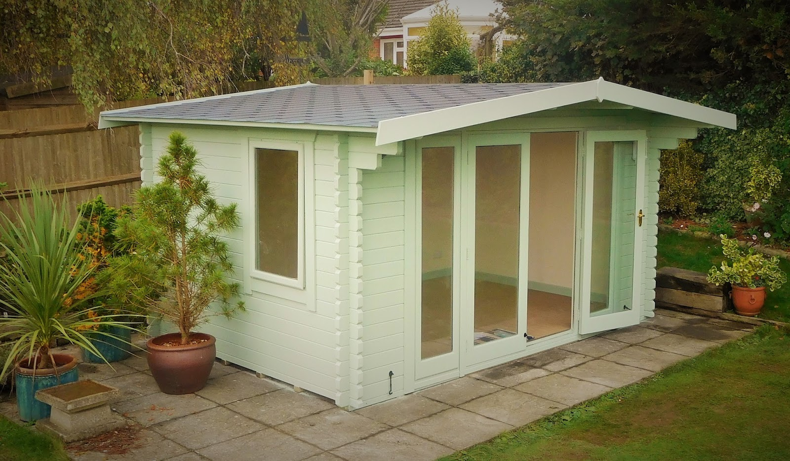 Latest Customer Testimonial Received For An Insulated Garden Studio Built  At Winchester.