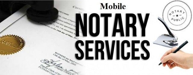 mobile notary public services notarize documents drive to you