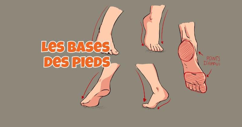 Tutoriel Manga: Les bases pour dessiner les pieds