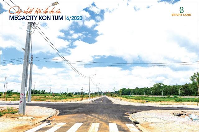Hạ tầng dự án Mega city KonTum 3
