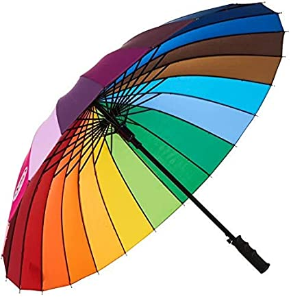 BICHI Umbrella Automatic Open and Close Function with Sunscreen Classic Folding and Strong Water Resistant, Sun & UV Rays Protection Umbrella