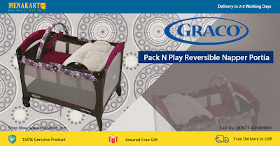 Graco Pack N Play Reversible Napper Portia