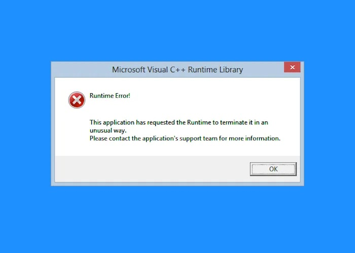 solucionar Runtime Errors