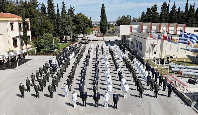 ΑΔΙΣΠΟ: Αποφοίτηση 255 Αξιωματικών της 18ης Εκπαιδευτικής Σειράς (ΦΩΤΟ)