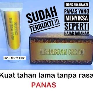 Obat Oles Kuat Tahan Lama Mahabbah Cream Original 100%