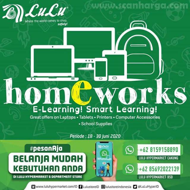 Promo LULU Home Works Produk Kebutuhan Sekolah Terbaru 18 - 30 Juni 2020