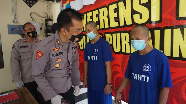 Dua Pelaku Pencurian Toko Kelontong Dibekuk Polres Purbalingga