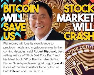 Robert Kiyosaki: Beli Dan Simpan Bitcoin Untuk Hadapi Krisis Dan Inflasi
