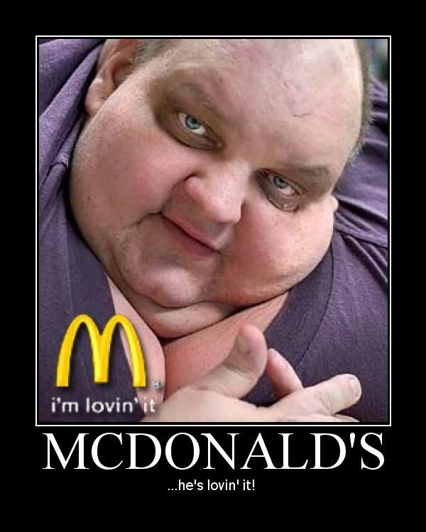 Fat Mcdonalds Guy 83