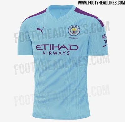 Gambar dan Harga Jersi Baru Manchester City 2019/2020