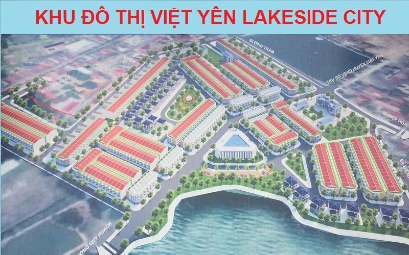 Quần thể khu đô thị Việt Yên Lakeside City