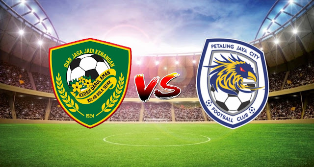 Live Streaming Kedah Darul Aman FC vs PJ City 17.3.2021 Liga Super