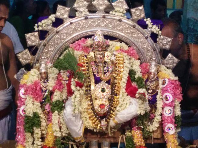 Lord Vinayaka Along With His Consorts Sidhi & Budhi