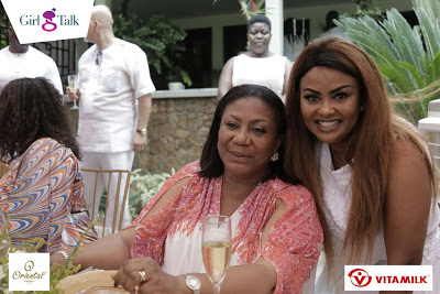 Girl Talk Team And Nana Ama McBrown Surprised First Lady of Ghana, Mrs Rebecca Akufo Addo On Her Birthday