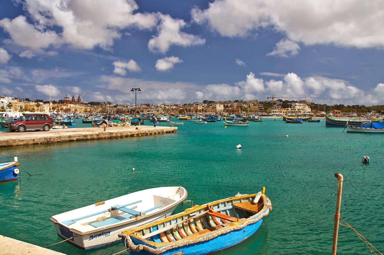łódki Luzzu na Malcie gdzie je można zobaczyć?