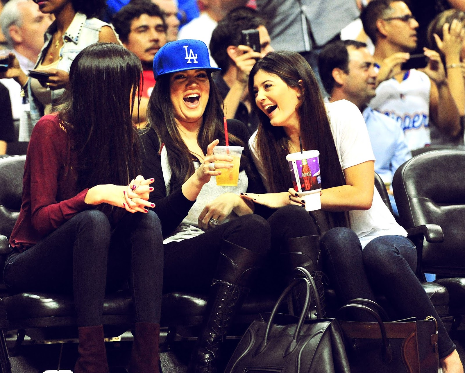 01 - Watching The Los Angeles Clippers Game on October 17, 2012