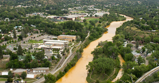 Jonathan P. Thompson: I'm writing a book about the Animas River!