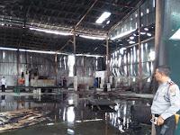 Pabrik Busa Di Sleman Terbakar