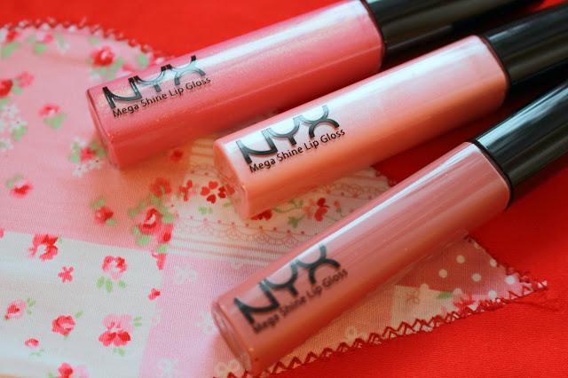 Блески для губ NYX Mega Shine Lips Gloss