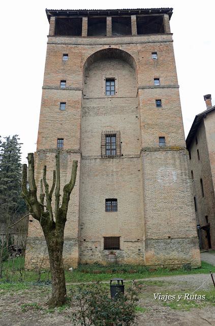 Torrione Farnesse, Castell'Arquato, Piacenza, Italia