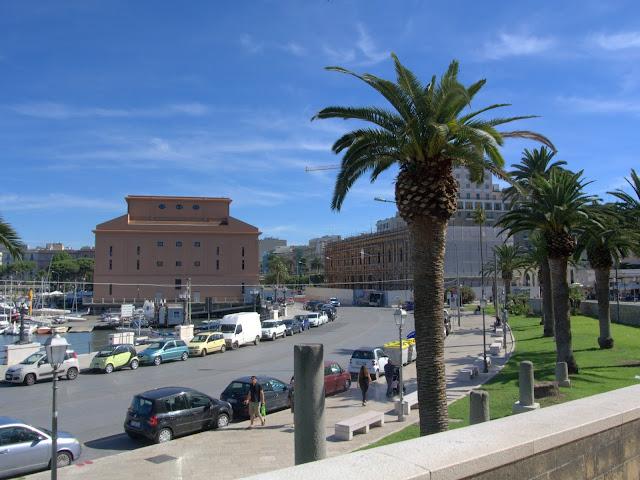 Bari okolice portu, promenada