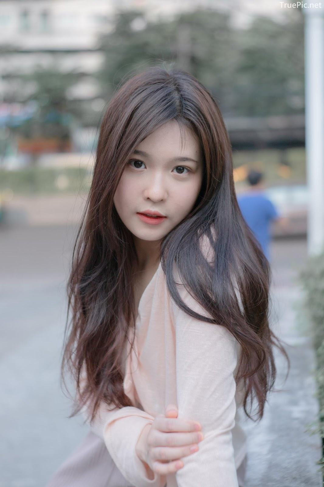 Thailand cute model Jelly Namjai (เจลลี่) - Beautiful angel in the city - Picture 6