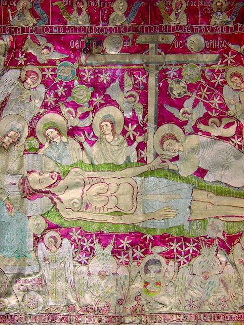 Θεσπρωτία: Ο Μοναδικός Και Ανεκτίμητης Αξίας Χρυσοκέντητος Επιτάφιος Της Παραμυθιάς Του 1578