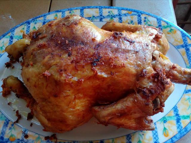 Resepi Ayam Panggang Mudah