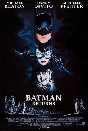 Batman Returns 1992 Hindi Dual Audio BluRay 850Mb 720p
