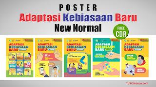 Poster Adaptasi Kebiasaan Baru CDR